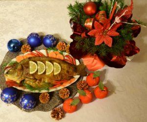 Karp - symbol Wigilii Bożego Narodzenia
