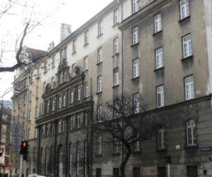 Pierwsza siedziba Ministerstwa Bezpieczeństwa Publicznego w Warszawie