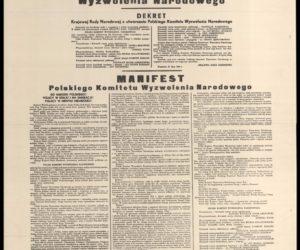 Polski Komitet Wyzwolenia Narodowego – wielkie oszustwo komunistów
